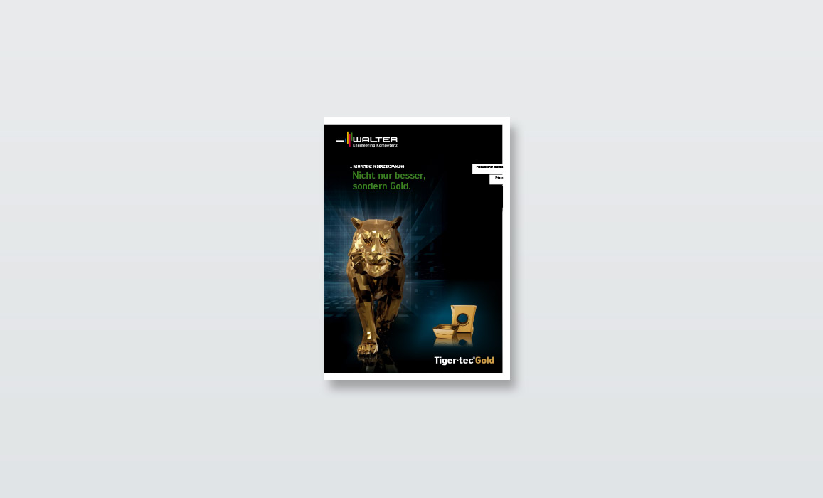 Walter TigerTec Gold – Broschüre