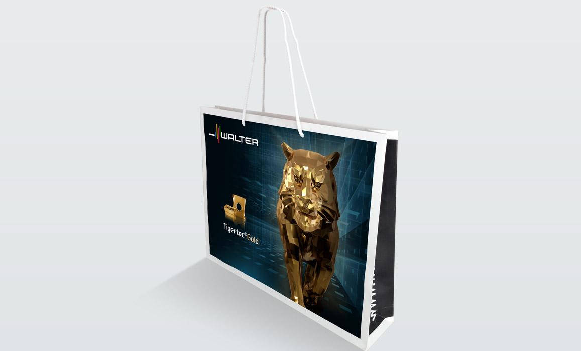 Walter TigerTec Gold: Branding